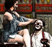 The Lovers - from Tarot of the Zirkus Mägi Sticker