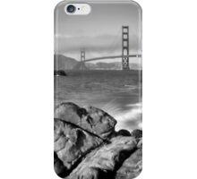 SAN FRANCISCO Baker Beach Monochrom iPhone Case/Skin