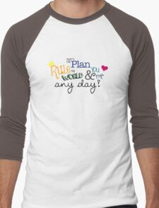 Rule the World Men's Baseball ¾ T-Shirt
