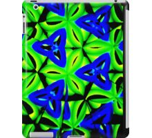 Blue Boomarang iPad Case/Skin
