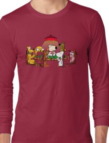 Dogs playing poker Long Sleeve T-Shirt