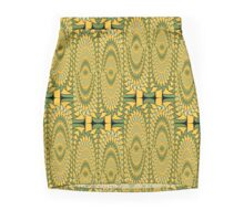 Geometric sunflowers Mini Skirt