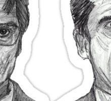 Dwight and Michael Sticker