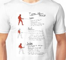 How to Fence Unisex T-Shirt