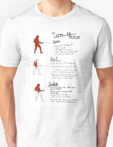 How to Fence T-Shirt