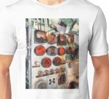 Gauges In Engine Room Unisex T-Shirt