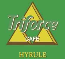 Triforce cafe - Hyrule Baby Tee
