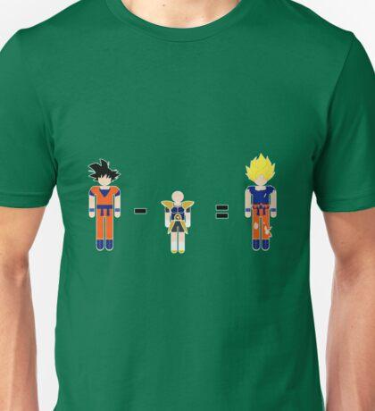 Super Saiyan Math Unisex T-Shirt