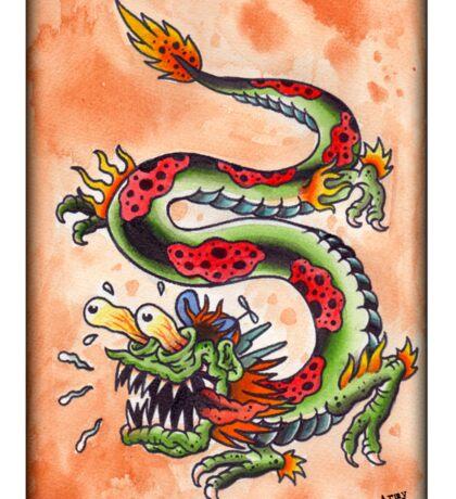 Weird-Oh Drago Sticker