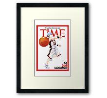 Time - Kuroko Framed Print