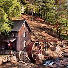 """""""Gresham Mill in October""""... prints and products by © Bob Hall"""