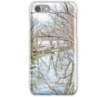 WINTERTIME AT THE CREEK iPhone Case/Skin