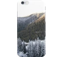 Mountain Evergreen Forest iPhone Case/Skin