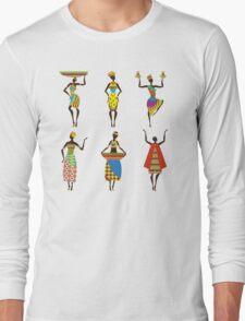 African Culture Long Sleeve T-Shirt