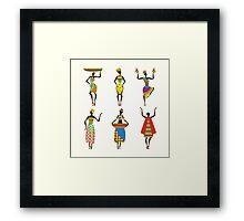 African Culture Framed Print
