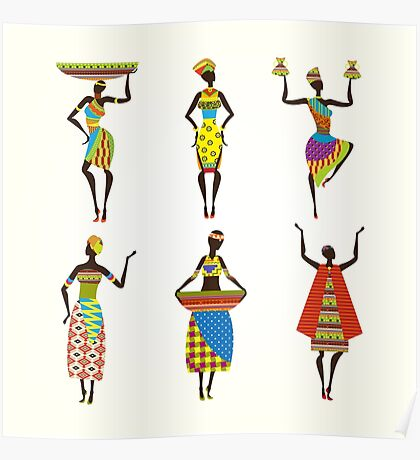 African Culture Poster