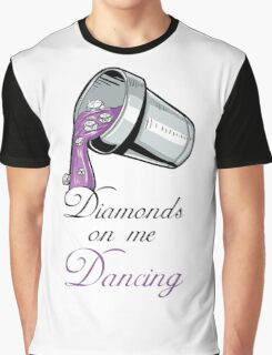 "Drake and Future ""Diamonds On Me Dancing"" #Drake #Future #DirtySprite Graphic T-Shirt"