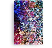 Blossoming Dream Sequence Canvas Print