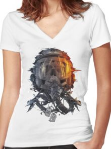 Battlefield Women's Fitted V-Neck T-Shirt