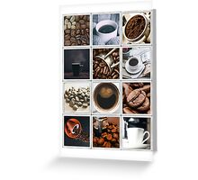 Coffee Poster Greeting Card