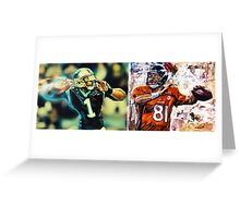 Super Bowl 50 Epic Fan Merchandise  Greeting Card
