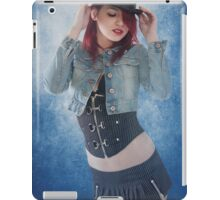 Cool Blue iPad Case/Skin