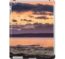 Puget Sound Sunset From Whidbey Island iPad Case/Skin
