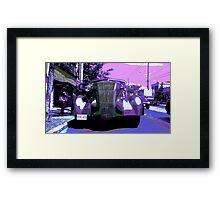 1930s Limousine Framed Print