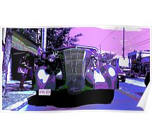 1930s Limousine Poster