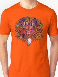 Rainbow Hiding Fox T-Shirt