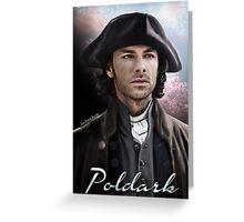 Ross Poldark Greeting Card