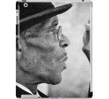 Smoking gentleman iPad Case/Skin