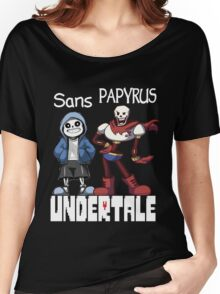 Sans and Papyrus Women's Relaxed Fit T-Shirt