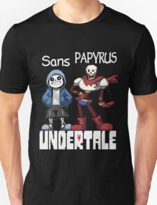 Sans and Papyrus T-Shirt