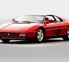 Ferrari 348b Coupe' by DaveKoontz