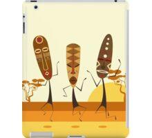 Tribal Mask Dance iPad Case/Skin