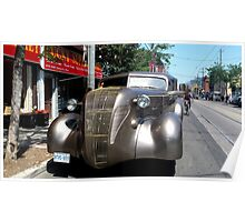 Late 1930s Limo Poster