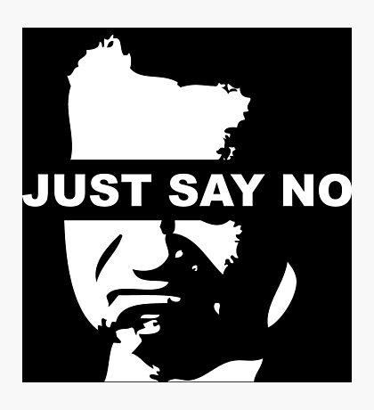 Just Say No - Richard Nixon Photographic Print