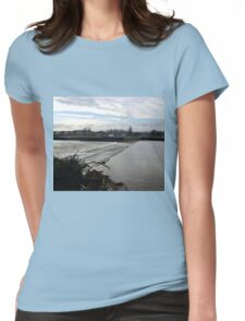 Weir at Exeter Devon UK Womens Fitted T-Shirt