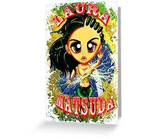 Chibi Laura Matsuda  Greeting Card