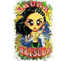 Chibi Laura Matsuda  Photographic Print