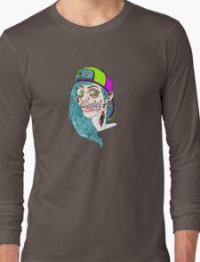 Zombie Skater Girl Long Sleeve T-Shirt