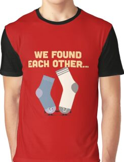 Character Building - Valentines Socks Graphic T-Shirt