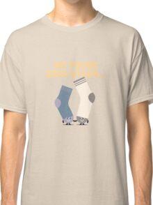 Character Building - Valentines Socks Classic T-Shirt