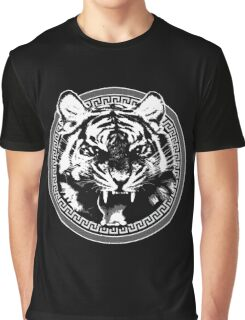 Angry Feroce Tiger Aggressive front face big cat t shirt sticker pencil hoodie Graphic T-Shirt