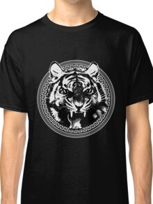 Angry Feroce Tiger Aggressive front face big cat t shirt sticker pencil hoodie Classic T-Shirt