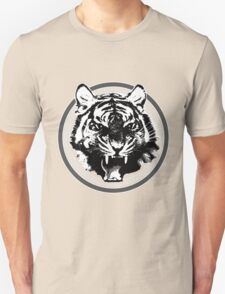 Angry Feroce Tiger Aggressive front face big cat t shirt sticker pencil hoodie T-Shirt