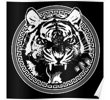 Angry Feroce Tiger Aggressive front face big cat t shirt sticker pencil hoodie Poster