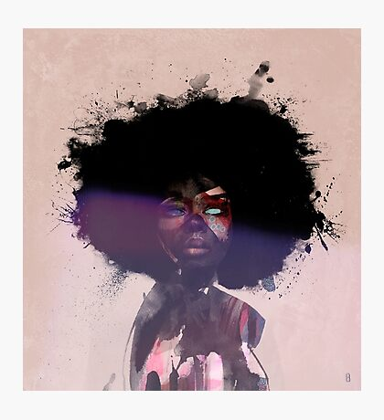 Afro Funk Photographic Print