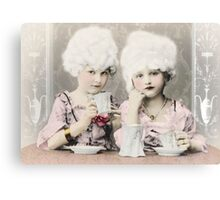 Tea Party at the Palace Canvas Print
